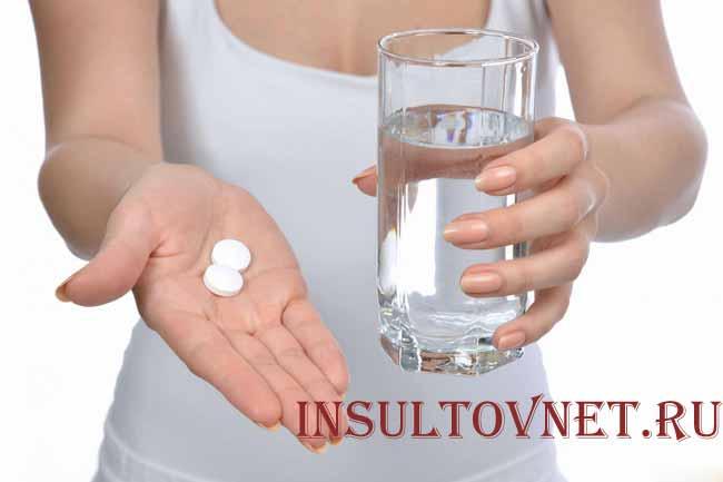 Прием медикаментов от головной боли