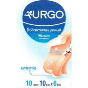 Пластырь Урго антисептический водонепроницаемый