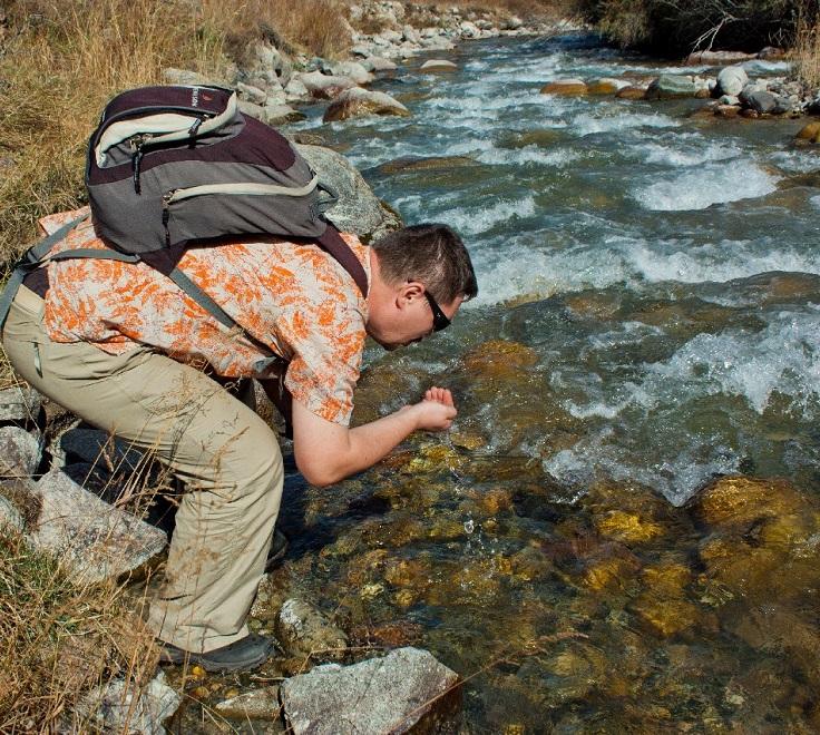 Пить воду из реки - путь заражения печеночным сосальщиком