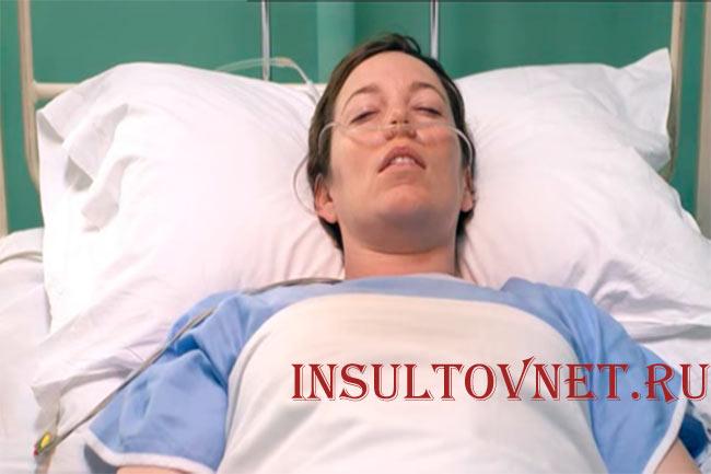 Кома после инсульта