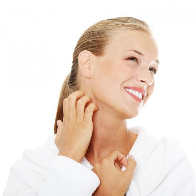 Зуд на коже - симптом гельминтоза