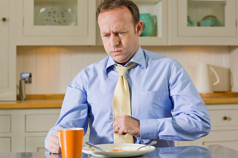 отрыжка во время еды