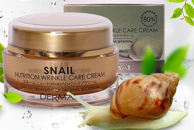 Улиточный крем для лица Snail care: подробнее о продукте