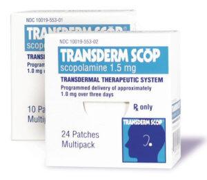 Пластырь со скополамином трансдермальный