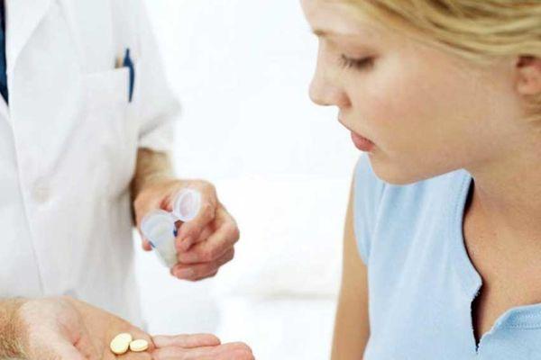 прием лекарства при лямблиозе