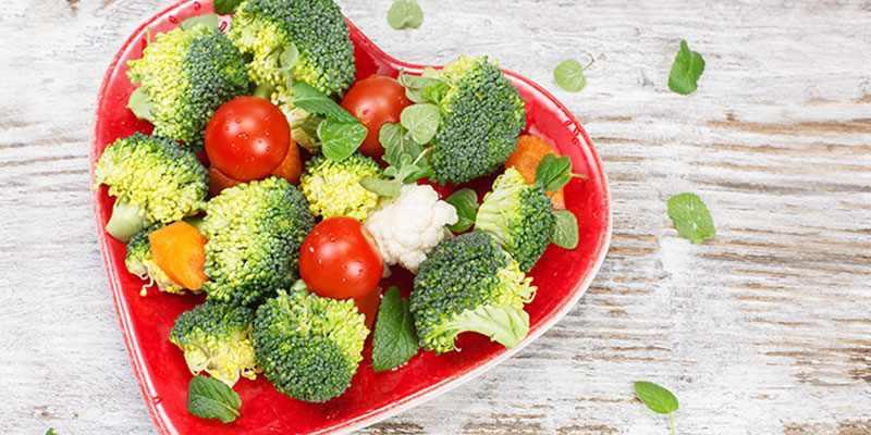 Меню овощной диеты на 10 дней