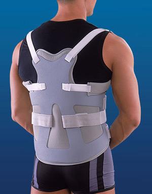Для корректировки спины в месте повреждения позвоночника назначают специальный корсет