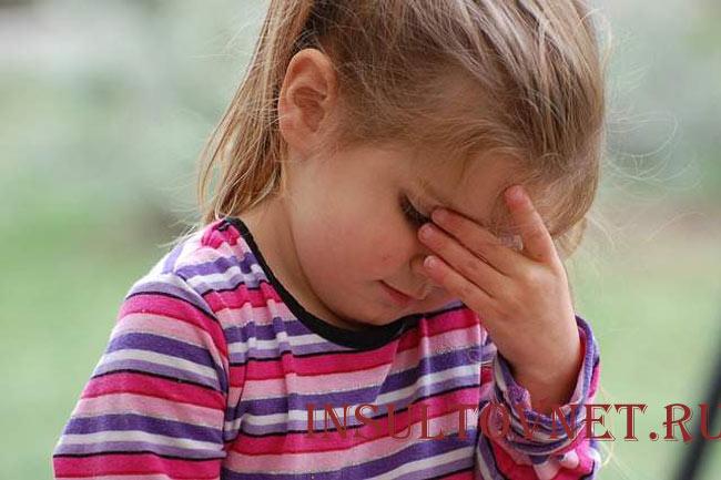 Если у ребенка болит голова