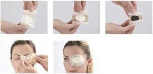 Пластырь для глаз применение