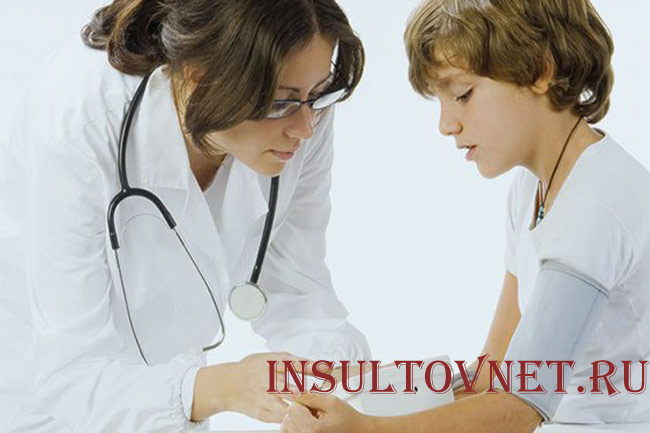 Симптомы гипертонии у детей
