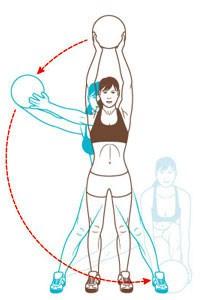 Круговая тренировка или минус размер одежды за 6 недель
