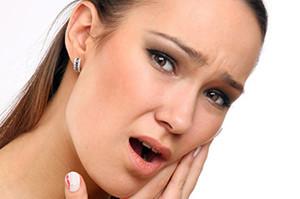 Боль возле инфицированного зуба