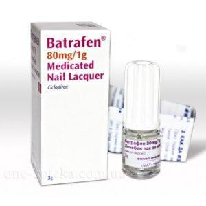 Лак Батрафен лечебный для ног