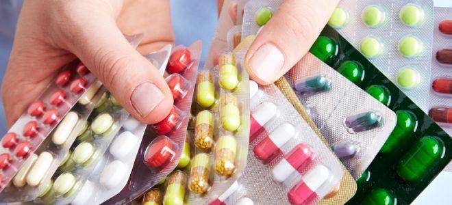 Таблетки против остриц