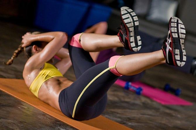 Упражнение комплекса табата