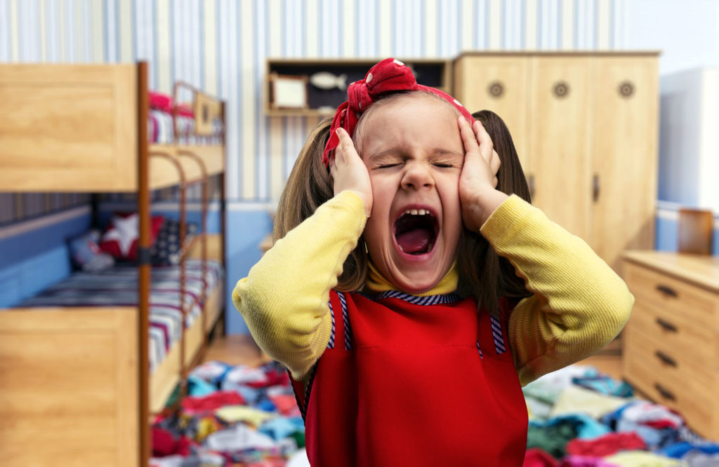 Что делать если ребёнок капризничает