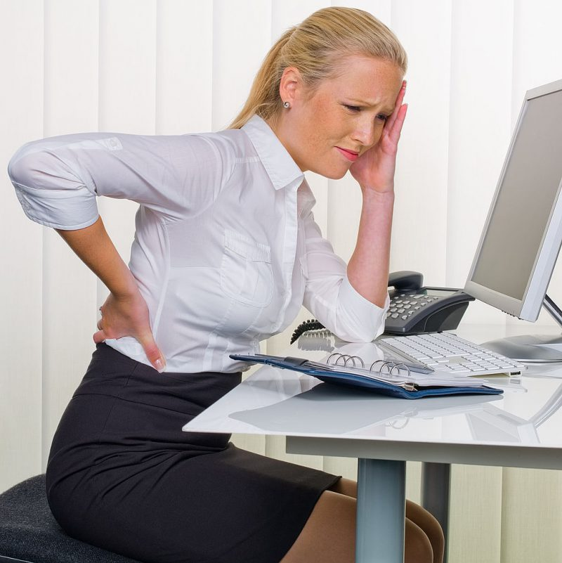 острые боли в спине