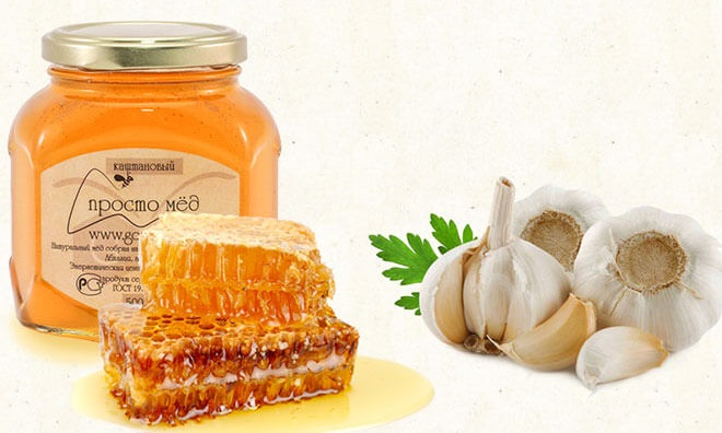 Мед, чеснок для профилактики энтеробиоза
