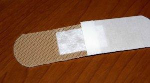 Лейкопластырь бактерицидный телесный для ран