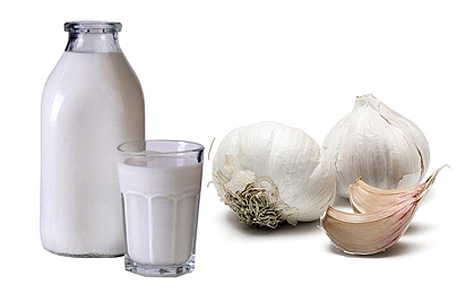 Чесночное молоко