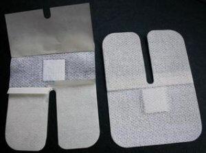 Пластырь для внутривенных систем тканевый