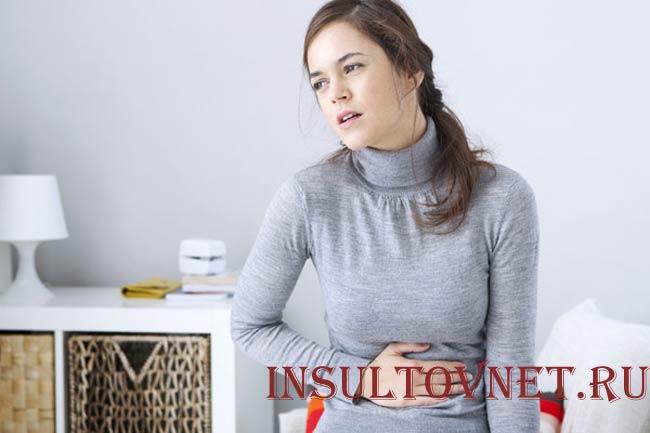 Вздутие и боль в животе