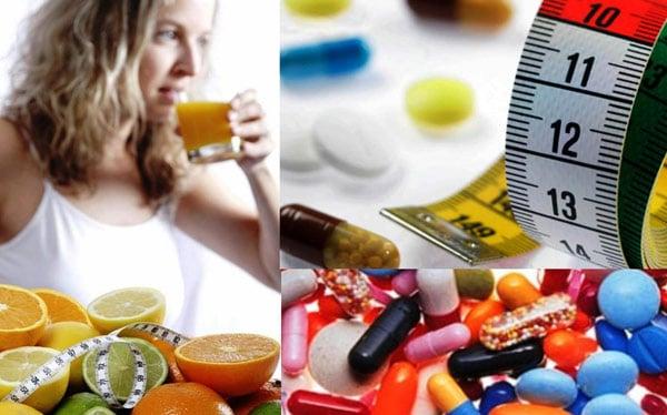 Добавки для похудения и соки