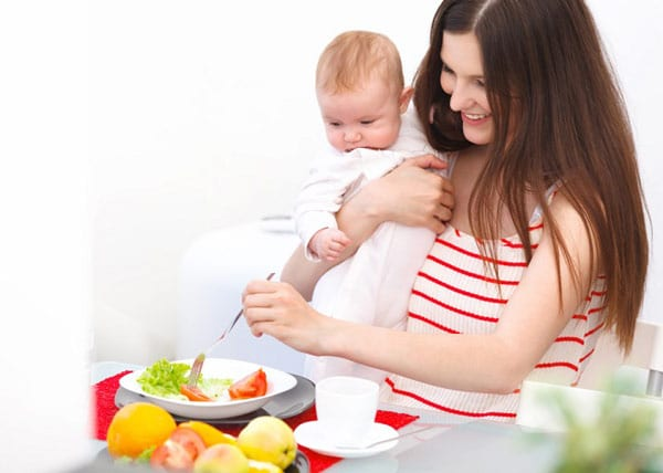 Овощи после родов