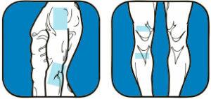 Применение пластыря для лечения суставов