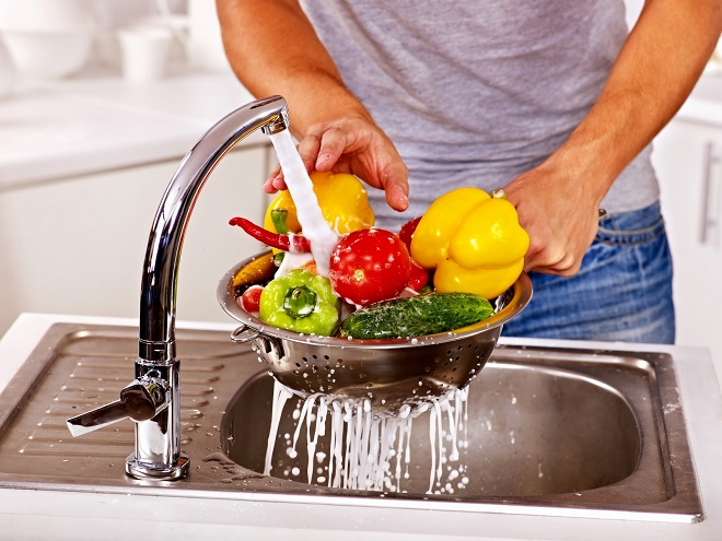 Мыть овощи перед употреблением - профилактика поражения мозга паразитами