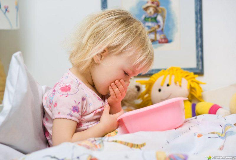 рвота у ребенка
