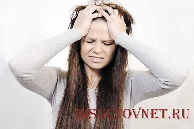 Болит теменная область головы