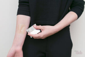 Применение пластыря от псориаза на теле