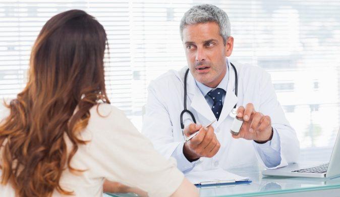 врач рекомендует лечение