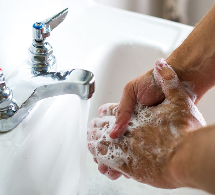 Мыть руки перед едой - профилактика заражения эхинококкозом печени