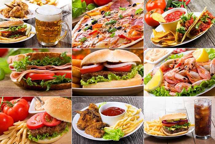 Еда для набора веса