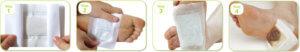 Как использовать пластырь детокс для ног
