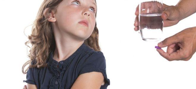 Таблетки против глистов для детей