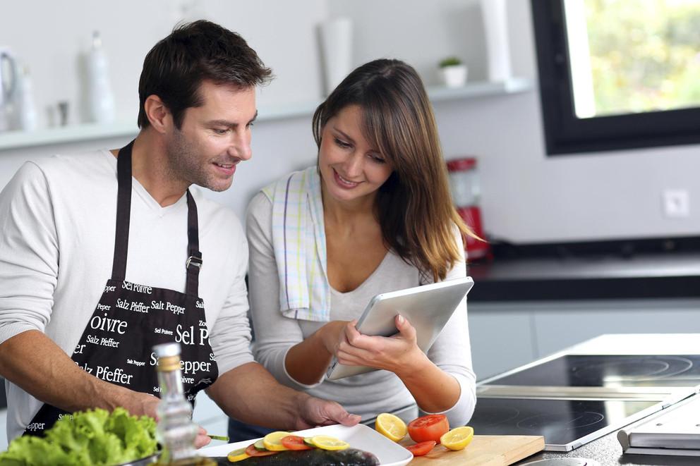 Подсчет калорий перед готовкой