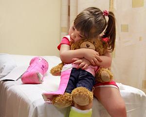 Гематогенный тип заболевания чаще всего развивается у детей старшего возраста
