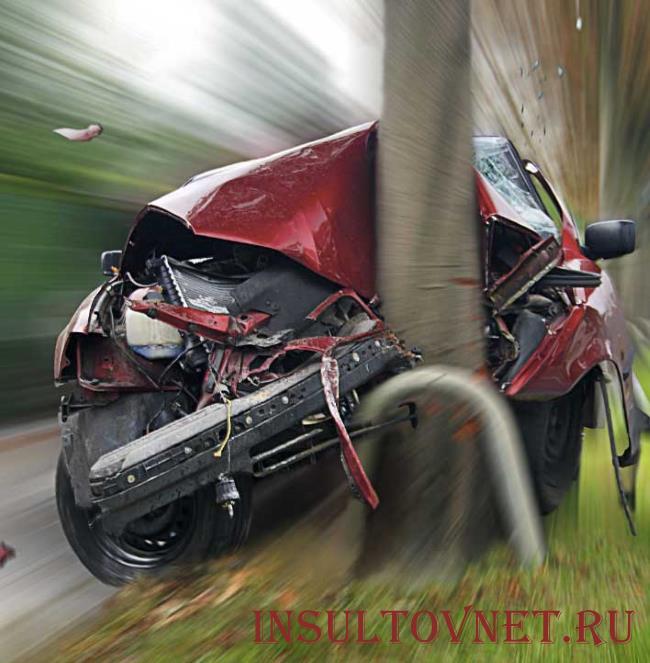 Инсульт может привести к аварии