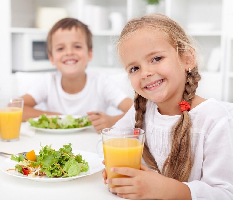 Питание ребенка при избавлении от глистов