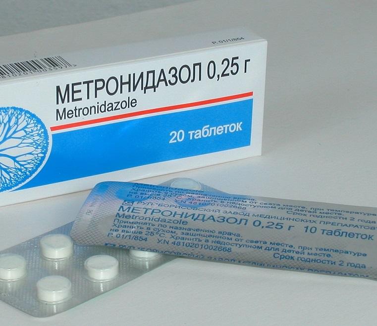 Метронидазол от лямблиоза