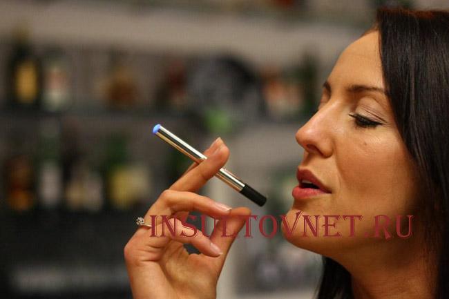Электронные сигареты после инсульта