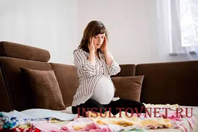 Симптомы депрессия при беременности