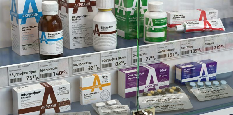 акихин препараты