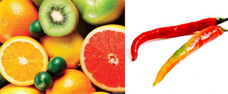 горькие и кислые продукты