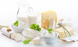Кисломолочные продукты богаты на кальций