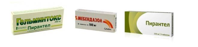 лекарства против гельминтов у детей