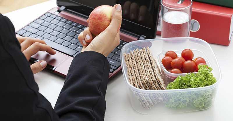 Полезные перекусы на работе
